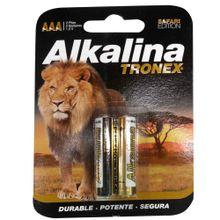 Pila alcalina TRONEX aaa x2 unds