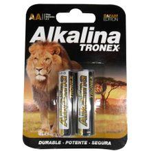 Pila alcalina TRONEX aa x2 unds