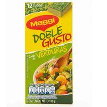 Caldo MAGGI doble gusto con verduras x120 g