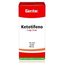 Ketotifeno GENFAR jarabe 1 mg x100 ml