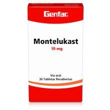 Montelukast GENFAR 10 mg x30 tabletas