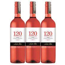 Vino SANTA RITA rosado x750 ml 2x3