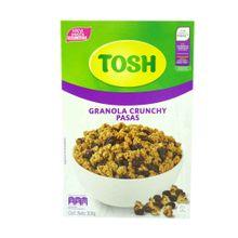 Cereal granola TOSH pasas x300 g