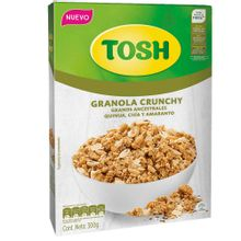 Cereal TOSH granola crunchy granos ancestrales x300 g