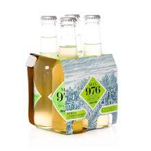 Agua TÓNICA mil 976 jengibre limón 4 unds x207 ml c/u