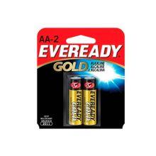 Pila EVEREADY gold alcalina aa x2 unds