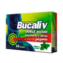 Bucaliv LAFRANCOL menta x12 tabletas