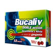 Bucaliv LAFRANCOL cereza x12 tabletas