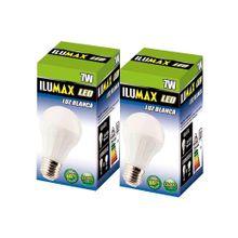 Bombillo ILUMAX led bulbo 2 unds x7w