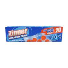 Bolsa ZEUX zipper congelación grande x20 unds