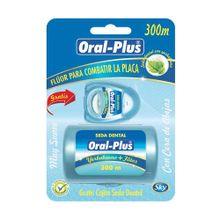 Seda dental ORAL PLUS menta x300 m gratis seda dental x60 m