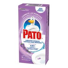Limpiador PATO lavanda adhesivo 3 unds x10 g c/u