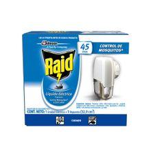Insecticida RAID laminado eléctrico 45 noches unidad + repuesto x32.9 ml
