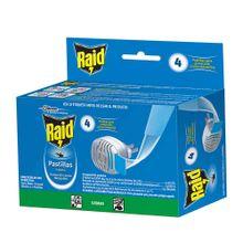 Insecticida RAID unidad eléctrico + 4 pastillas