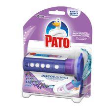 Limpiador PATO discos activos lavanda x42 g