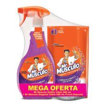 Limpiavidrios MR MÚSCULO precio especial 2 unds x500 ml
