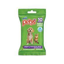 Paños húmedos PETYS original x10 unds