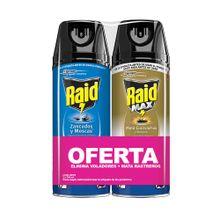 Oferta insecticida RAID aerosol 285 ml +RAID x285 ml