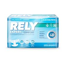 Pañal RELY adulto grande confortb x20 unds