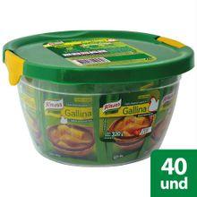 Caldo de gallina KNORR desmenuzado 40 sobres x320 g