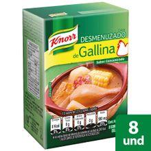 Caldo KNORR gallina 8 cubos x88 g