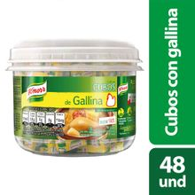 Caldo de gallina KNORR 48 cubos x528 g
