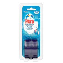 Limpiador PATO azul pastillas 2 unds x48 g c/u