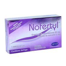 Noferty LAFRANCOL ampolla x 1 ml+jeringa