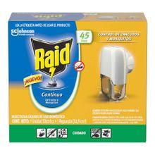 Insecticida RAID líquido 45 usos unidad eléctrica +repuesto