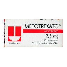 Metotrexato TECNOFARMA 2.5mg x100 tabletas