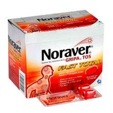 Noraver TECNOQUIMICAS fast total gripa x60 capsulas