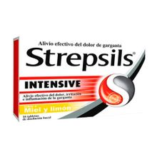 Strepsils RECKIT miel y limón x16 tabletas