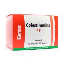Colestiramina GENFAR sobre x4 gr