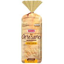 Pan artesano BIMBO mantequilla x500 g
