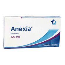 Anexia TECNOQUIMICAS 120mg x7 tabletas