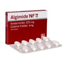 Algimide NF SIEGFRED 325/8mg x100 tabletas