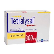 Tetralysal GALDERMA 300 mg x16 cápsula