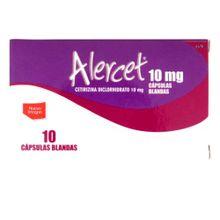Alercet PROCAPS 10mg x10 cápsulas blandas