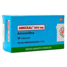 Amoxal GLAXO 500mg x30 cápsulas