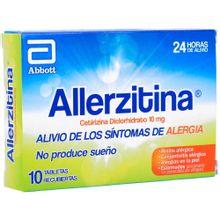 Allerzitina 10mg LAFRANCOL x10 tabletas