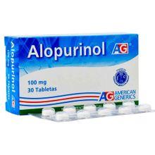 Alopurinol 100mg LAFRANCOL x30 tabletas