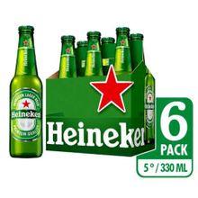Cerveza HEINEKEN nacional 6 unds x330 ml