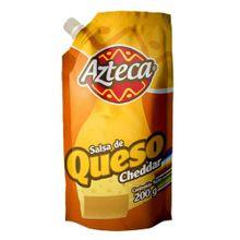 Salsa de queso cheddar AZTECA x200 g