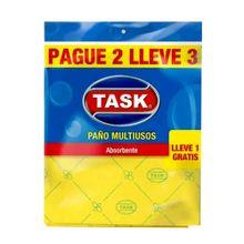 Paño multiusos TASK antibacterial pague 2 lleve 4