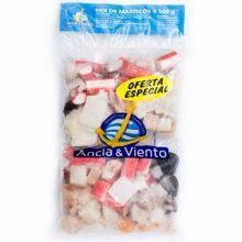 Mix de mariscos ANCLA Y VIENTO x500 g Pague 1 Lleve 2