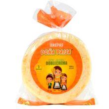 Arepa DOÑA PAISA queso doble crema 5 unds x450 g