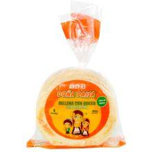 Arepa DOÑA PAISA rellena de queso 4 unds x400 g