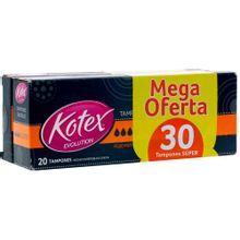 Tampon KOTEX super 20 + 10 tampones