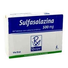 Sulfasalazina RECIPE 500mg x30 tabletas
