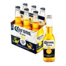 Cerveza CORONA 6 unds x355 ml c/u